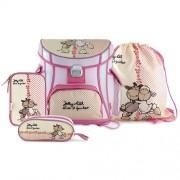 NICI 16360 Children's Backpack, Pink/ White
