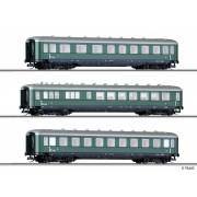 Set 3 Vagoane Calatori, OBB, Ep.III, TT, Tillig 01596