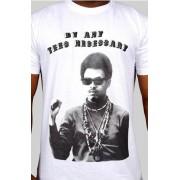 e.5.Charlie By Any Tees Necessary Custom Printed T Shirt White