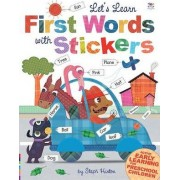 Let's Learn First Words with Stickers by Sally Hopgood