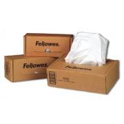 Worki do niszczarek Fellowes, rozmiar 53-75l, opakowanie 50 sztuk, 36054