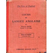 Cours De Langue Anglaise, Classe De 5e Et 2e Annee (The Voice Of England)