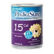 PediaSure 1.5 Cal Vanilla, 8 oz. Can Institutional Part No. 56409 Qty 1 Each