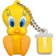 USB Flash Drive Emtec Looney Tunes Tweety USB 2.0 8GB Galben