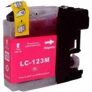 ГЛАВА ЗА BROTHER DCP J132/J152/J552/J752/J4110/MFC J470/J870/J4410/J4510 - Magenta - LC123M - P№ NP-B-0123M - 200BRALC 123M - G&G