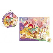 Janod Princess Carriage Puzzle-54 Pcs