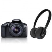 Canon EOS 1300D EF S18-55 IS II DSLR Camera + Motorola BT Headset Moto Escape Worth Rs. 6499