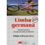 Germana Cls 9 Si 10 - Scoala De Arte Si Meserii