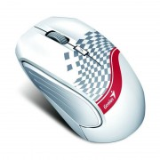 Mouse Genius Optical Wireless DX-6800 Tattoo White