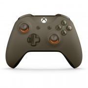 Microsoft Xbox One Wireless Controller Green/Orange WL3-00036