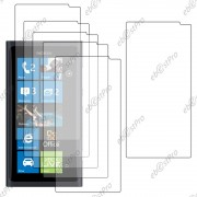 Ebeststar ® Lot X6 Protection Film D'écran Anti Rayures Anti Traces Pour Nokia Lumia 800