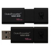 Stick de memorie Kingston DataTraveler 16GB D100 G3 USB 3.0 negru