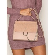 NLY Accessories Crossover Ring Bag Axelremsväskor Dusty Pink