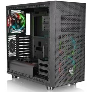 Thermaltake Core X31 Mid Tower Computer Case with RGB Ring Fans and Window - Black