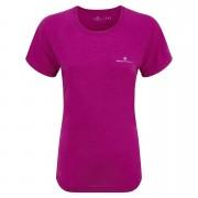 RonHill Women's Aspiration Motion Short Sleeve Tee - Magenta - UK 12