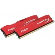 DIMM DDR3 16GB (2x8GB kit) 1866MHz HX318C10FRK2/16 HyperX Fury Red