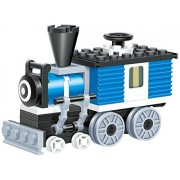 Mini Train 59 Pcs Building Blocks Steam Single Window Cabin Armoured Engine Locomotive Railway Train Set That Will Keep Fun Traveller Excited Longer A Gift For 6+ Children In Lego Compatible Parts
