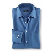 Walbusch Aero-Shirt Slim Fit Blau 38