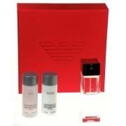 Giorgio Armani Diamonds, Edt 75ml + 50ml balsam po holení + 50ml sprchový gel