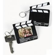 Ciak porta foto portachiavi in plastica - versione mini