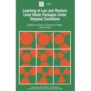 Leaching of Low and Medium Level Waste Packages Under Disposal Conditions by M. Dozol