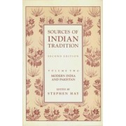 Sources of Indian Tradition: v.2 by S.C.Munro- Hay