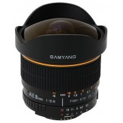 Samyang 8mm f/3.5 Asph IF MC Fisheye CSII (Nikon AE)