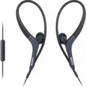 Casti cu microfon Sony MDR-AS400iP Black pt iPhone