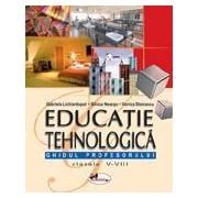Educatie tehnologica, ghidul profesorului - clasele V-VIII