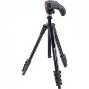 Compact Action Aluminum Tripod (Black) MKCOMPACTACN-BK
