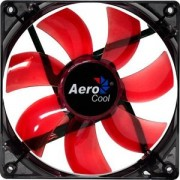 Ventilator 120 mm Aerocool Lightning Red LED