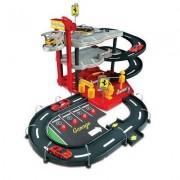 Garage Avec Parking - Ferrari Race And Play - Echelle 1/43