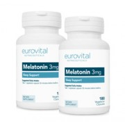 MELATONIN 3mg 360 Capsules VALUE PACK