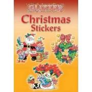 Glitter Christmas Stickers by Nina Barbaresi