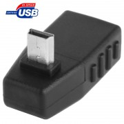 Adaptateur 90 degrés Mini USB mâle vers USB 2.0 AF
