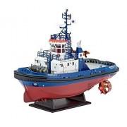 Revell Harbour Tug Boat Fairplay I/ III/ X/ XIV Plastic Model Kit by Revell