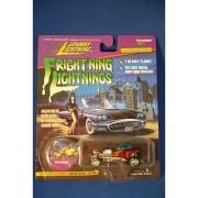 Frightning lightnings JOHNNY LIGHTNING limited edition BOOTHILL EXPRESS grey series 3 (Elvira artwork on card)