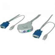 Pocket KVM Switch PS/2, 2-Port USB PC (809091)