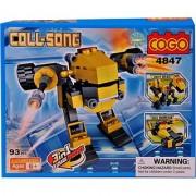 Mera Toy Shop Robot Construction Set -4847 (Multicolor)