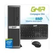 GHIA COMPAGNO SLIM / INTEL CELERON N3150 QUAD CORE 1.6 - 2.08 GHZ / 4 GB / SSD 32 GB / SFF-N / WINDOWS 10 PRO