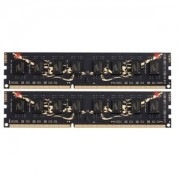 Memorie GeIL Black Dragon 8GB (2x4GB) DDR3, 1600MHz, PC3-12800, CL9, Dual Channel Kit, GB38GB1600C9DC