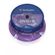 DVD+R 25 buc./cutie VERBATIM Matt Silver