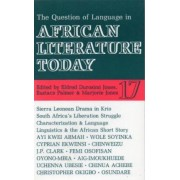 ALT 17 The Question of Language in African Literature Today by Eldred Durosimi Jones