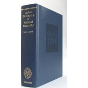 Oxford Dictionary of National Biography 2001-2004 by Lawrence Goldman