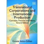 Transnational Corporations and International Production by Grazia Ietto-Gillies