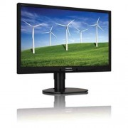 Monitor Philips 241B4LPYCB, 24'', LED, 1920x1080, 1000:1, 5ms, 250cd, D-SUB, DVI, DP, pivot, repro, čierny