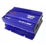 OneConcept 500W Mini Amplificador Hifi para Carro em Azul