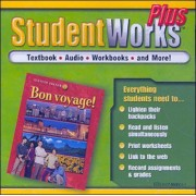 Bon Voyage! Level 1, Studentworks Plus CD-ROM by McGraw-Hill Education