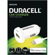 Duracell In Car 2.4A Charger + 1M Lightning Cable (DR5021W)