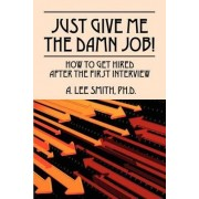 Just Give Me the Damn Job! by A Lee Smith Phd